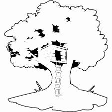 Disegni Da Ricopiare Per Bambini Disegno Di Casa Sull Albero Da
