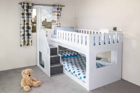 Odd Loft Bed With Stairs Plans Bedroom Bunk Dog Free Pdf Building