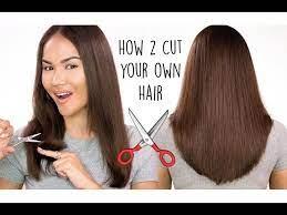 how to cut your own hair l diy haircut