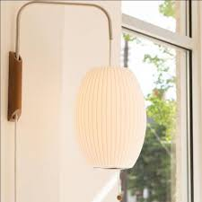 george nelson bubble lamp. Herman Miller George Nelson Small Cigar Bubble Lamp Wall Sconce With Regard To Lamps Inspirations 17