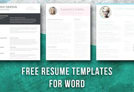 Free Resume Design Templates Gorgeous Free Resume Template Design Word Creative Templates Microsoft