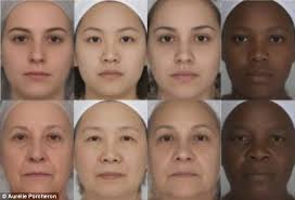 researchers ysed images of women aged 20 to 80 using puter software to mere contrast