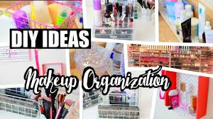 8 Cheap DIY Makeup Organization & Storage Ideas! | NeonRouge73 - YouTube