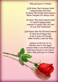 Friendship Quotes And Poems Friendship Quotes