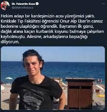 Kaçan kurbanlığın peşinden gittikten sonra kaybolan tıp öğrencisi ölü  bulundu (3) - Haberler