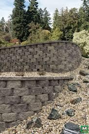 clifton wall beveled retaining blocks