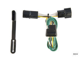 ford ranger trailer wiring kits suspensionconnection com ford ranger trailer wiring kit 1986 1992 by curt mfg 55314