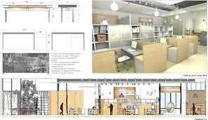 Искусство и дизайн Тюмени Анастасия Рожаева дипломный проект коворкинг офиса разработанный по программе среднего профессионального образования