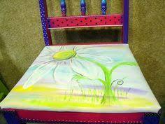 carolyns funky furniture carolynsfunkyfurnitureblogspotcom handpainted daisy chair carolyn funky furniture