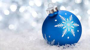 Christmas Ornaments Blue Wallpapers ...