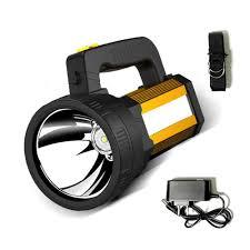200000LM Đèn Pin Siêu Sáng Đèn Khẩn Cấp Sạc Lại Cầm Tay Đèn LED Chiếu Điểm  Di Động Đèn Pin Chiến Thuật Công Suất Cao Tìm Kiếm Ánh Sáng Pin Lithium Lớn