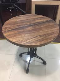round dining table with rotating center centerpiece turntable for