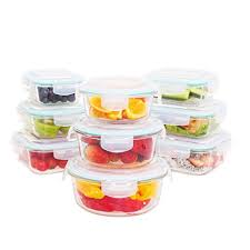 Glass Food Storage Containers With Locking Lids Best Amazon Glass Food Storage Container Set32 Pieces32 Containers