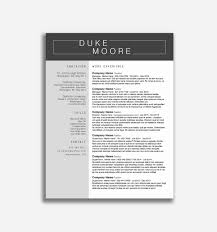 Free Resume Templates Microsoft Word Resume Template Ms Word 2007