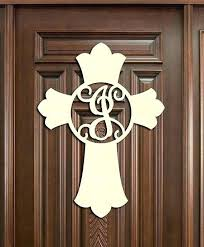 plain wooden door hangers unfinished wooden door hangers wooden cross monogram wood cross wall decor unfinished
