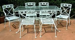 iron outdoor dining set gorgeous white wrought iron patio furniture residence decorating images white wrought iron patio dining table modern patio amp