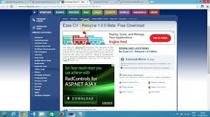 Free Resume Download Software Top 24 Free Resume Builder Best Software For Windows Video Dailymotion 15