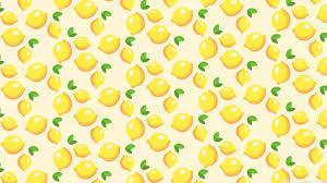Lemons Pattern Ultra HD Desktop ...