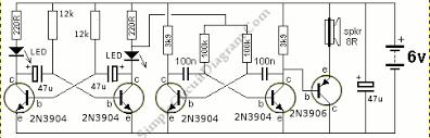 ambulance hee haw siren circuit wiring diagrams ambulance hee haw siren