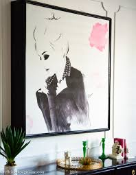 How To Hide Tv How To Hide A Flat Screen Tv With Artwork Cre8tive Designs Inc