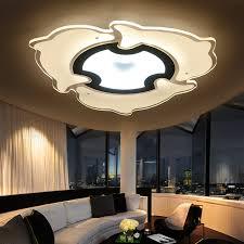 modern led ceiling lights for living room indoor lighting plafon led dolphin shape ceiling lamp fixture