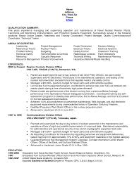 Resume Examples Facilitator Resume Sample Training Coordinator Of