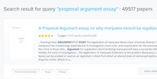 what is a proposal argument essay and what are some examples quora  what this proposal argument essay is just look for examples of such essays on studentshare net they have tons of articles on any subject