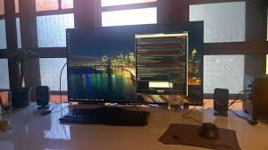 i m contemplating ing a 4k tv for use as a pc monitor it s mainly for ivity purposes i want the extra screen real estate with proper dpi