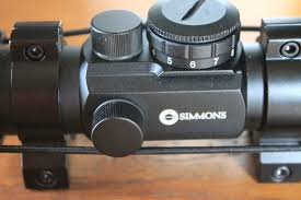 simmons red dot scope. pre-owned: lowest price simmons red dot scope s