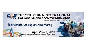 Vending Machine Expo Unique 48th China International Selfservice Kiosk And Vending Show CVS