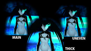 Animated Anime Main Menu Black Rock Shooter nude at Fallout 4.