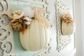 fall decor diy love white pumpkins this fall craft looks so easy