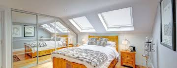 mansard loft conversion wandsworth bedroom by nuspace