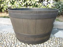 pvc outdoor planters lovely planters interesting large round plastic planters