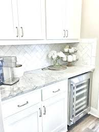 white subway tile backsplash kitchen unique home and interior design romantic tiles are back in grout color