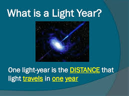 Distance Of Light Year What Is A Light Year Ppt Download