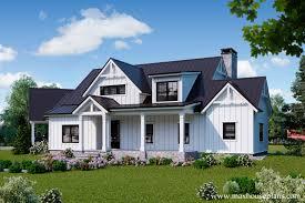 modern farmhouse house plans