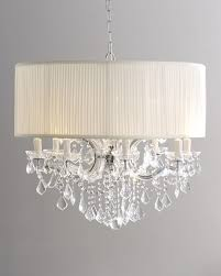 best choice of drum shade crystal chandelier in archive with tag rubbed bronze