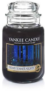 Yankee Candle Large Jar Scented Candle - <b>Dreamy</b> Summer Nights ...