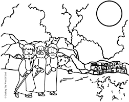 Small Picture Road To Emmaus Coloring Page Coloring pages are a great way to