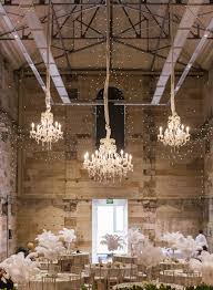 white palais chandeliers