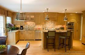 Pictures Of Kitchens Traditional Light Wood Kitchen Cabinets Within