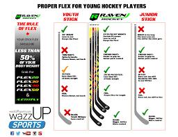 Hockey Stick Flex For Kids Wazzup Sports