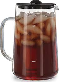 glass iced tea pitcher. Interesting Iced Capresso 80 Oz Glass Iced Tea Pitcher On
