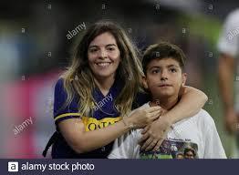 Armando Maradona And Dalma Maradona Stockfotos und -bilder Kaufen - Alamy