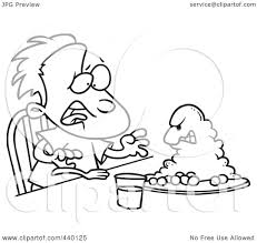 Dinner plate clipart outline collection