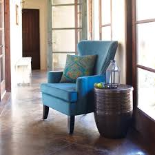 Wingback Chair Pacific Blue Elliott Wingback Chair World Market