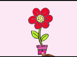 Small Picture how to draw easy flower for kids