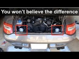 install engine mounts on a porsche 911