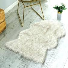 faux shearling rug faux fur lambskin rug non skid backing sheepskin deluxe soft item faux sheepskin faux shearling rug